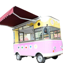 Food Vending Trailer cars for sale Mobile Restaurant Trailer/snack trailer/fast food carts selling food truck