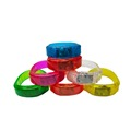 Customized Logo Flashing Sound Activated Led Bracelet
