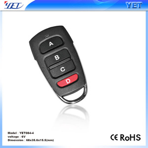 Universal Gate Garage Door Cloning Remote Control Key Fob 433mhz Copy Code YET158