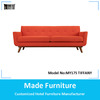 Mid Centry Fabric Sofa Set Danish