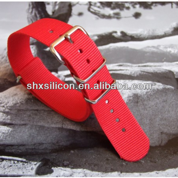nato/zulu/nylon silicone strap manufacturer /watch band supplier/all kinds of watch belts