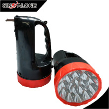 Factory Sale 15 led Portable Lamp Led Hand Lamp Handlamp with Lead-acid Battery