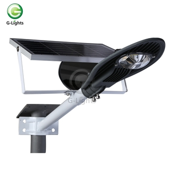 IP65 waterproof integrated solar 20W led street light lamps