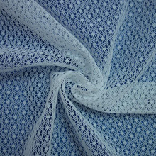 Functional Fabric cool silk fashionable 70/30 nylon spandex stretch mesh knitted fabrics tricot sport mesh fabric