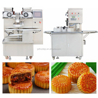 multifunction Automatic savory beans paste food encrusting making machine