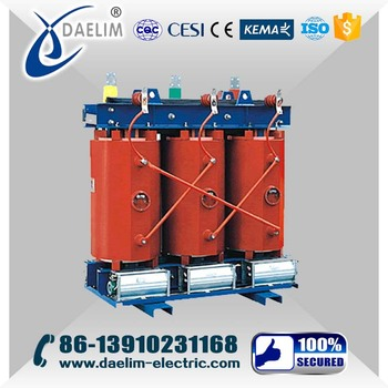 11kv 500kva Cast Resin Dry Type Transformer Equipments from China