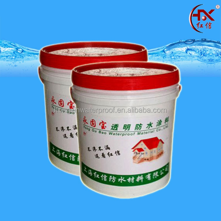 Transparent Water Resistant Building Waterproof Coating