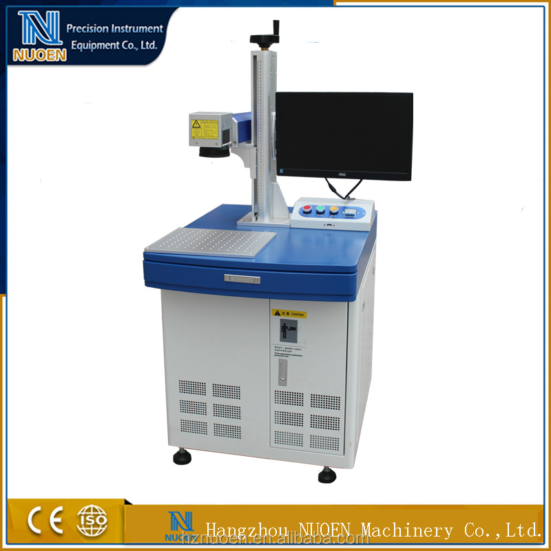10W Fiber Laser Marking Machine For Metal and Plastic Materials