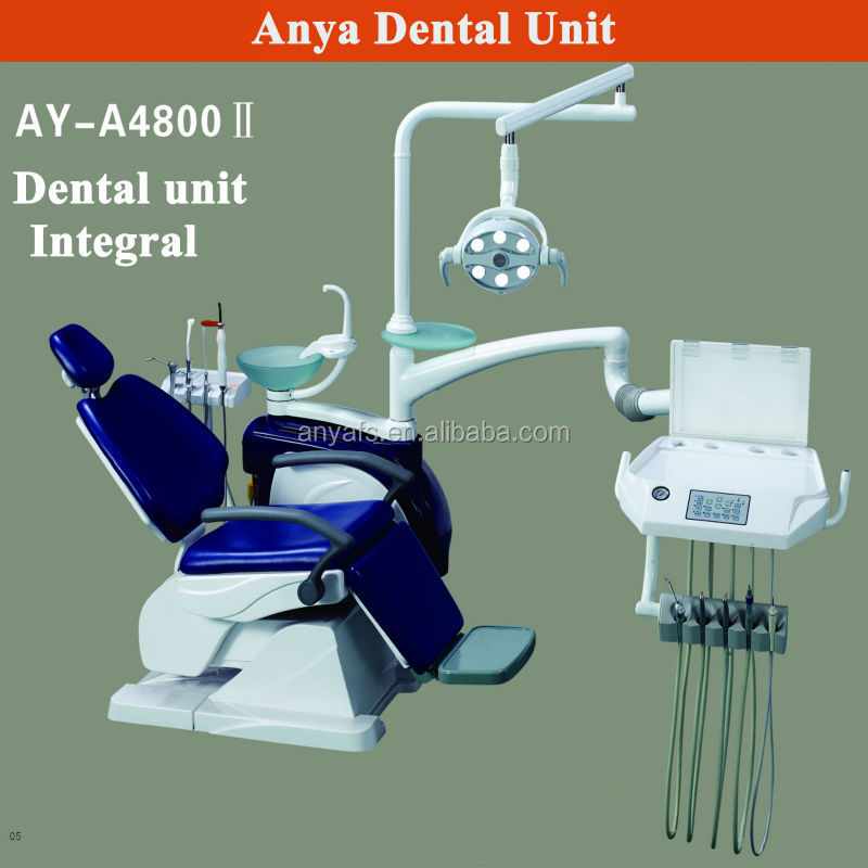 hot sale dental chair unit with injection instrument tray foshan