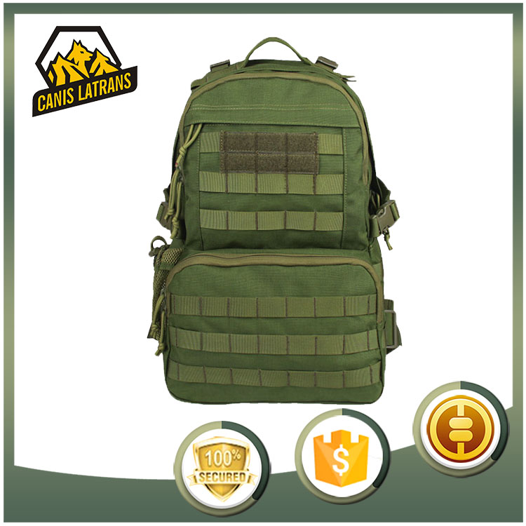 Tactical sling army camo surplus outdoor hiking military backpack bag CL5-0044