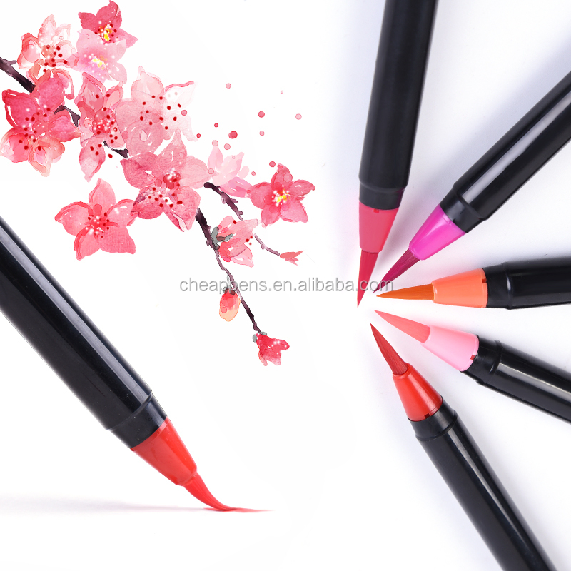 Brush Tip Painting Watercolor Pen High Quality Set-20 Colour +1Water Pen