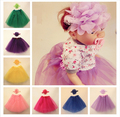 new design baby pettiskirts frozen princess tutu skirt, New Rainbow Girls Tutu Skirts with chiffon lace flower hair band accesso