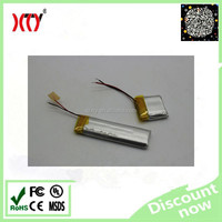 051549 3.7V 320mah rechargeable lipo battery ,smal lithium polymer battery 320mah li ion battery