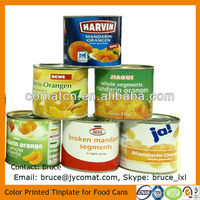 Japanese International Standard Tinplate for Food Grade Food Can