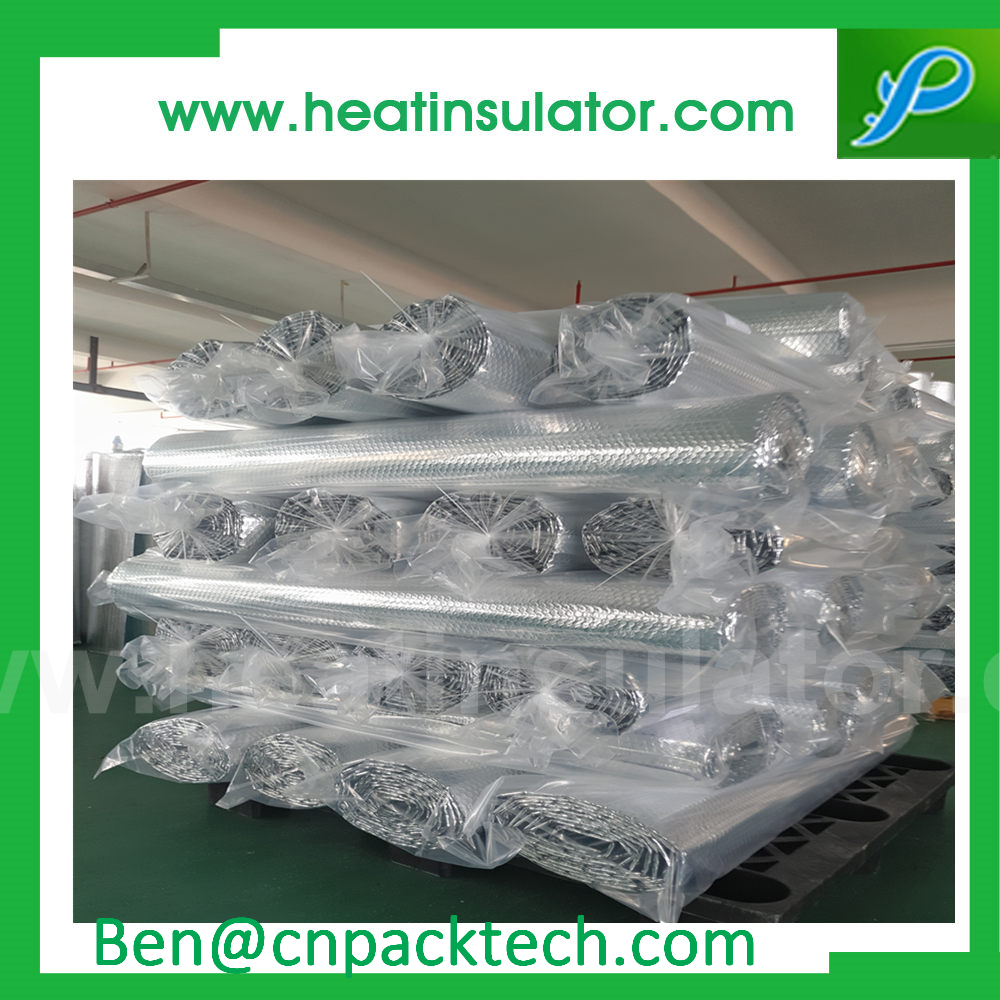 Reflective Roof Insulation Double Layer Bubble Foil Insulation Sheets