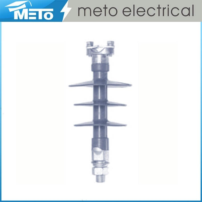 China Manufacturer Meto electrical 35kv 3 good old power pole composite pin type insulator