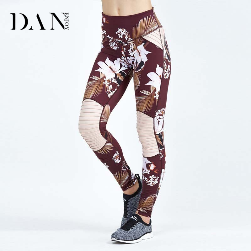 2017 Newest Custom Compression Dry Fit Sports Printing Womens Workout Yoga Leggings