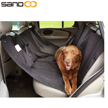 China wholesale black simple waterproof dog car seat cover