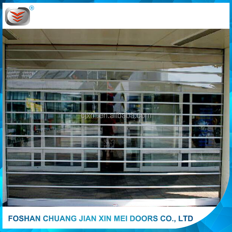 Luxry and Cheap Promotion Polycarbonate Roller Shutter Exterior Window