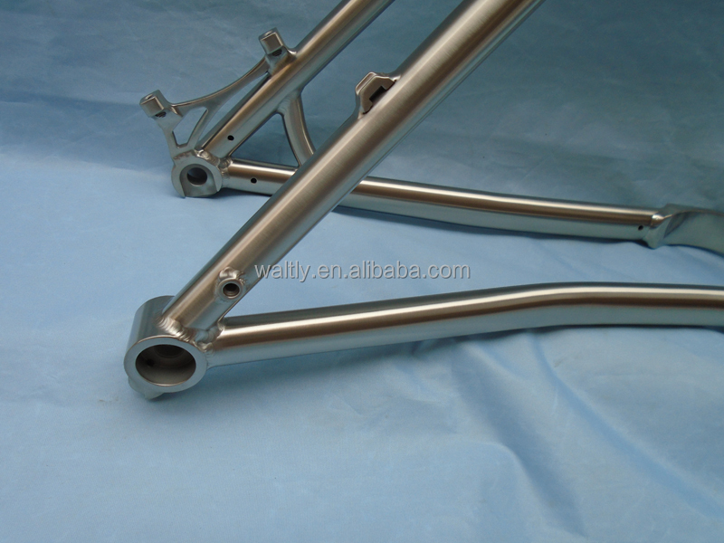 29 Plus Titanium Mountain bike frame for 3.0 tires