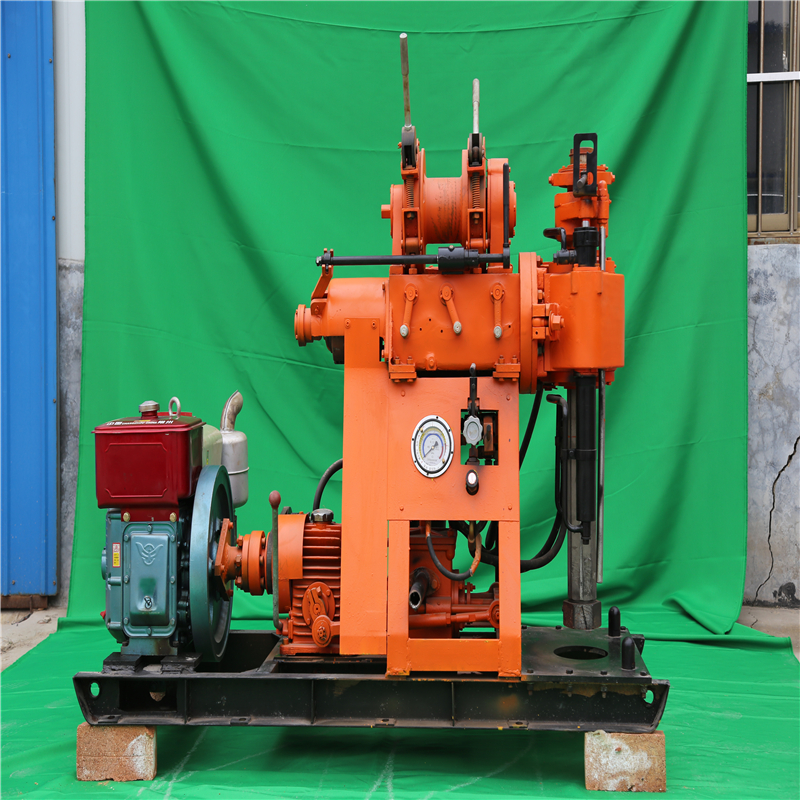 Geophysical exploration drill machine 15kw water well drilling rig