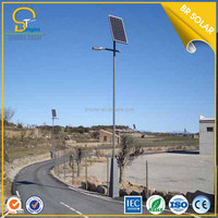 60w customize factory price high brightness led street light with solar panel price list