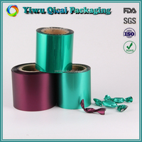 Good Quality hot selling food packaging plastic film roll for candy packaging bag