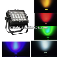 20pcs 15w RGBWA 5in1 Outdoor Led