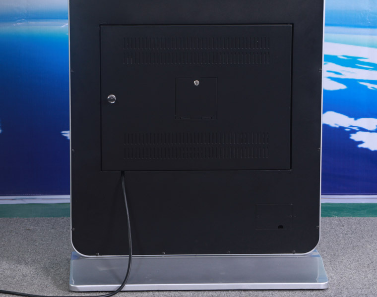 55 inch standalone shopping mall advertising touch screen kiosk