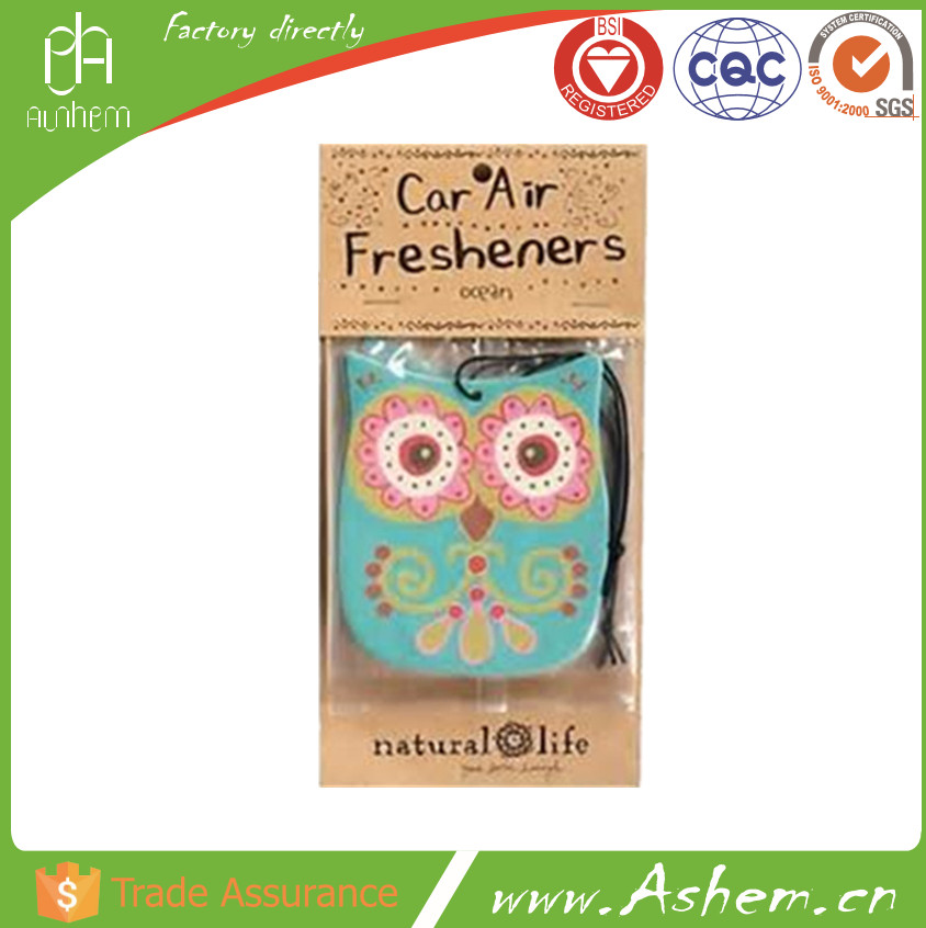 The best selling screen printing paper air freshener with Logo printing IC-514