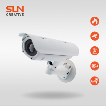 long range ptz surveillance thermal imaging camera with UFPA detector