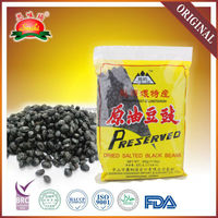 500g dried preserved salted black beans