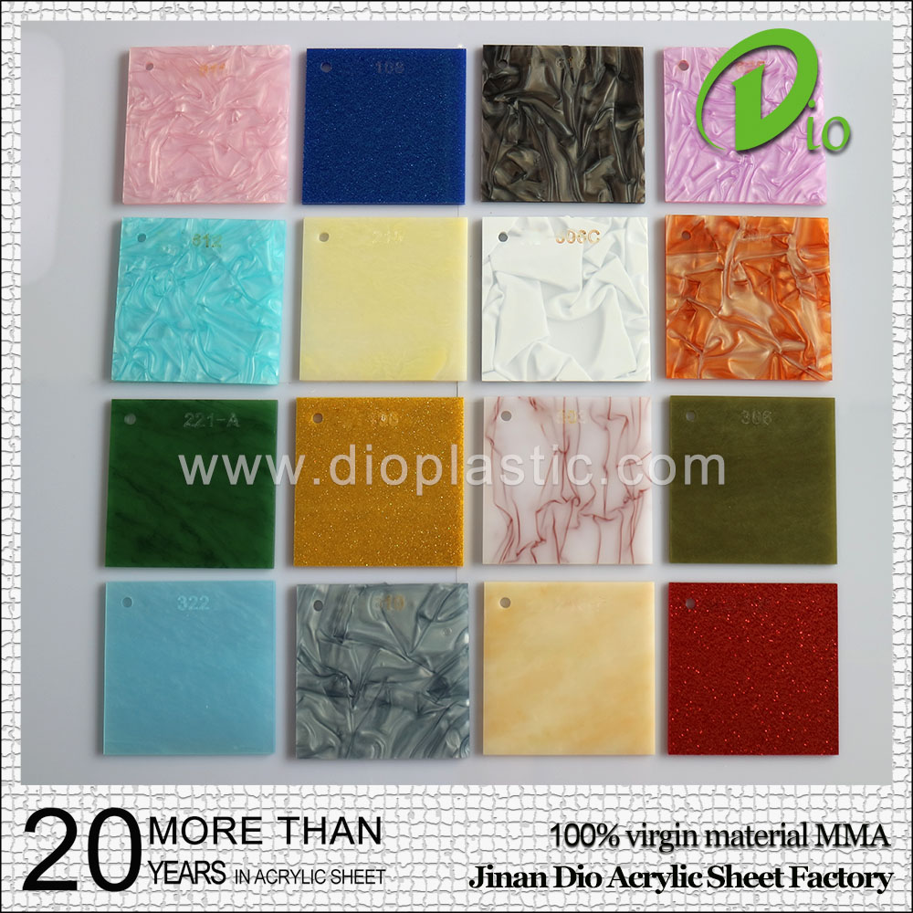 high quality constraction plastic 3mm marble acrylic sheet