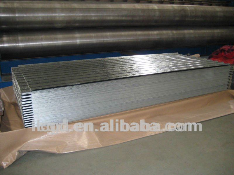 zinc galvanized chinese antique corrugated steel sheets for roof tiles