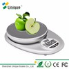 Portable Wellness Device Electronic Slim Design 5kg Digital Cooking Mini Kitchen Food Scale