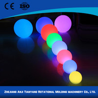 2015 led flashing bouncing ball with multi-color light with low price