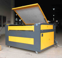 sealed CO2 Laser Type tempered glass Laser Cutting machine from china