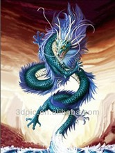 High quality PET 3d dragon picture ready stock