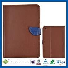 C&T PU leather stand protective phone cover for ipad mini
