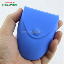 Prmotional Christmas gift silicone euro coin holder