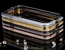 Newest Luxury Bling Diamond Metal Bumper for s3, Mobile Phone Accessories Case Skin Cover for samsung galaxy s3 i9300
