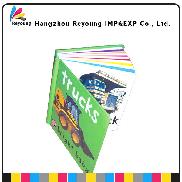 Child Book Printing Thick Learning Paper Boardbook Printing