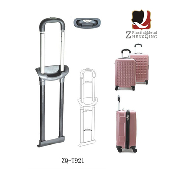 Leather Bag Trolley Handle Telescopic Travel Luggage Trolley