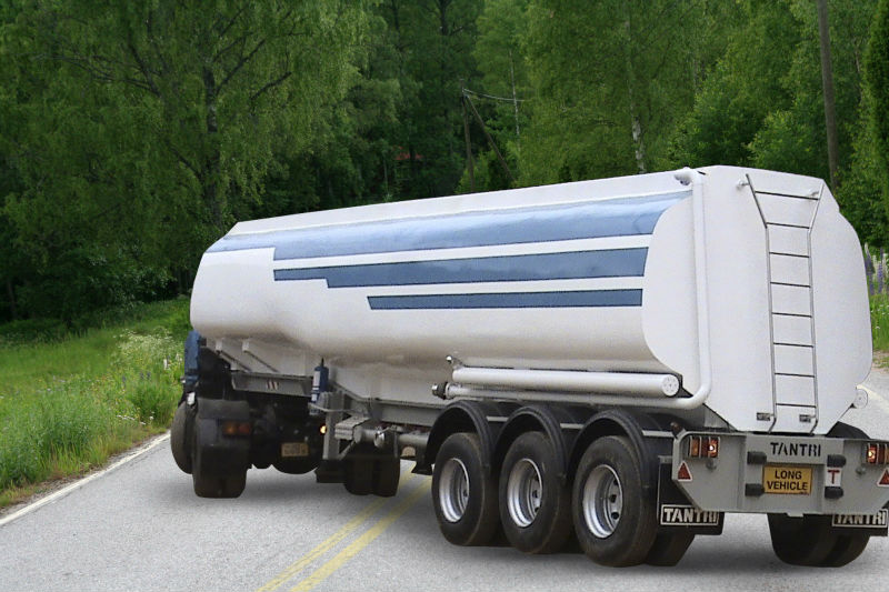 Fuel transport trailer Tantri Model TTK40L-315/80