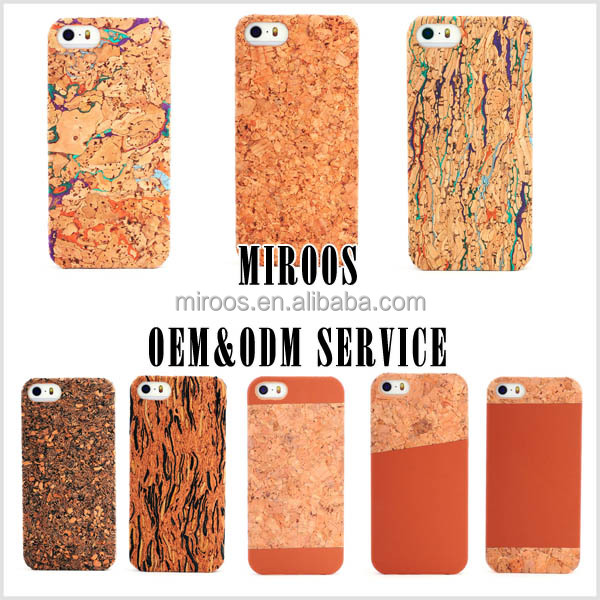 "new trendy case for cell phone,cork design for designer iphone 5"" case, for iphone 6 case cork"