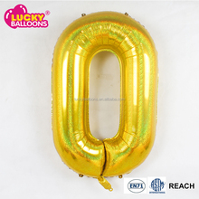 foil number balloon all available colors except gold and silver, pink and blue. Black, white, rose gold, orange, green