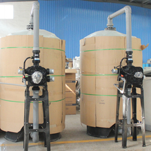 FRP Sand Filter For Car Wash Water Treatment