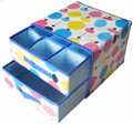Wholesale customized new design fabric storage box