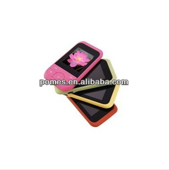 1.8 TFT inch touch screen mp4 player with high quality and FM function