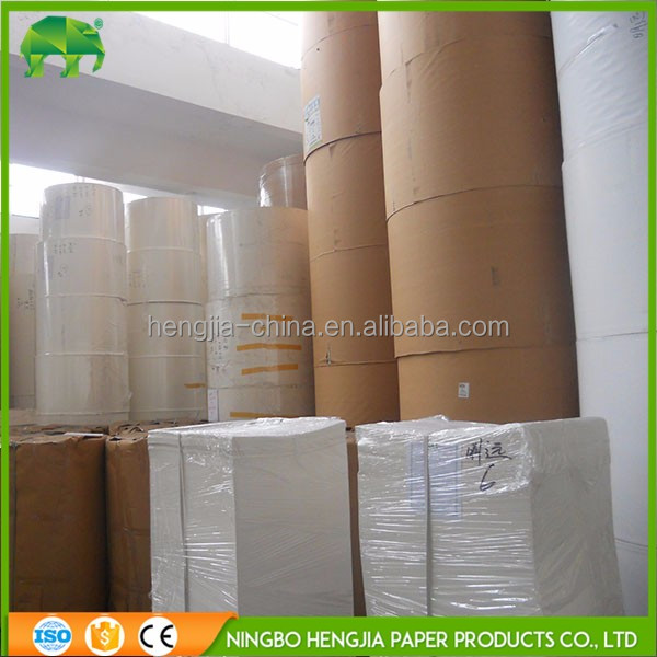 High quality Food Grade Single Sided Kraft Paper Roll